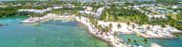 Tranquility Bay Resort aerial view